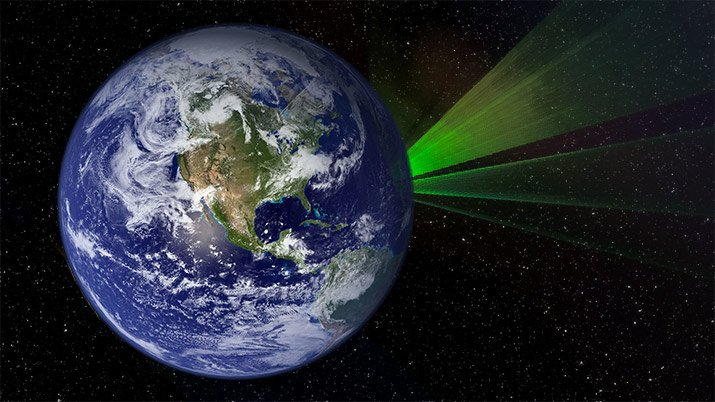 New Study Suggests Using Laser Light to Message ETs