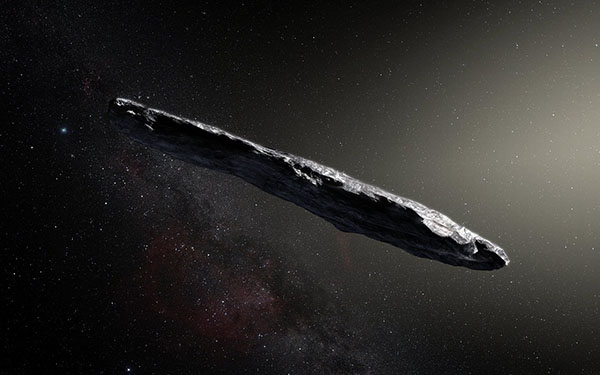 Astronomers Track Interstellar Asteroid to Its Home System