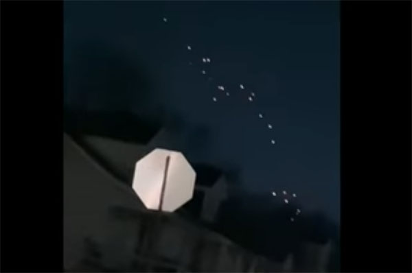 Clusters of 'UFOs' Recorded in Detroit and Cleveland