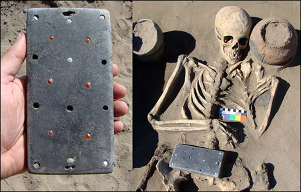 Ancient Skeleton Found With 'iPhone-Like' Belt Buckle in Siberia
