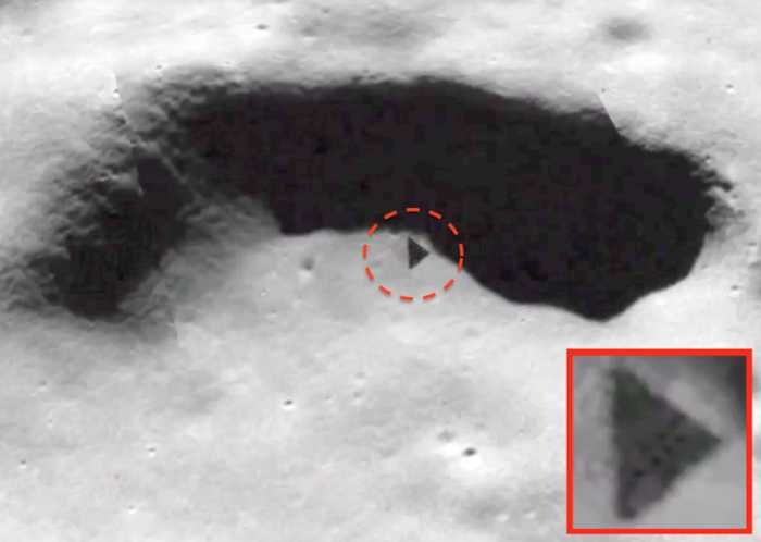 Has a Pyramid Been Discovered on the Moon?