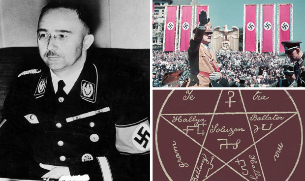Heinrich Himmler's Occult Library Discovered in 'Secret Room'