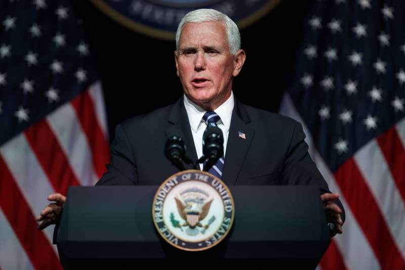 Vice President Pence Outlines Plan for New Space Force by 2020