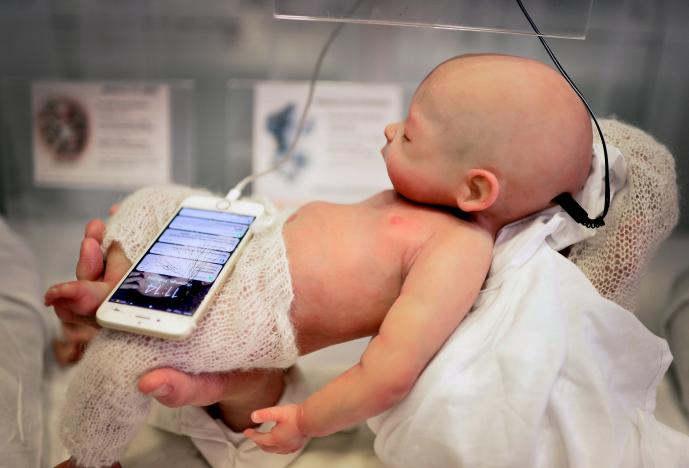 Spanish Firm Makes Unsettlingly Realistic Android Doll Babies