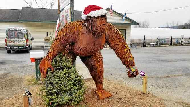 Bigfoot Statue Brings Local Town 'National Acclaim'