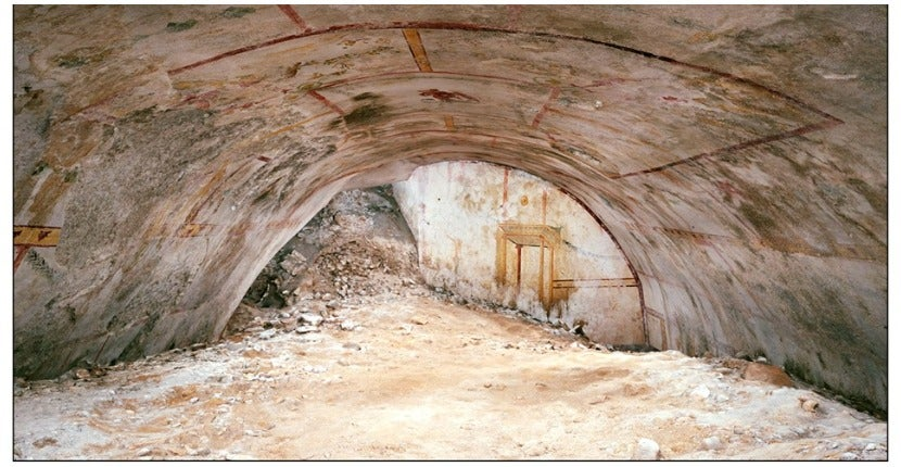 Hidden Underground Chamber Found in Nero's Roman Palace