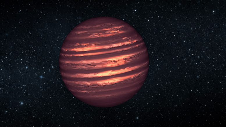 Planetary Scientists Spot Stripes on Brown Dwarf