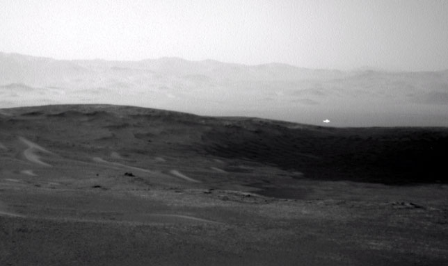 Rover Captures Picture of 'Mysterious Glowing Anomaly' on Mars