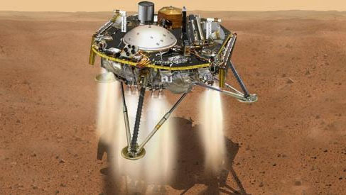 NASA's InSight Probe Touches Down on Mars