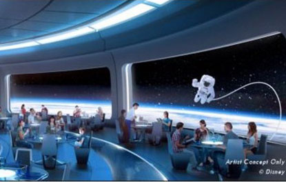 New Space-themed Restaurant to Open at Disney World This Year
