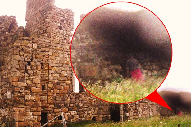 Ghostly 'Fisherwoman' Caught on Camera at Castle?