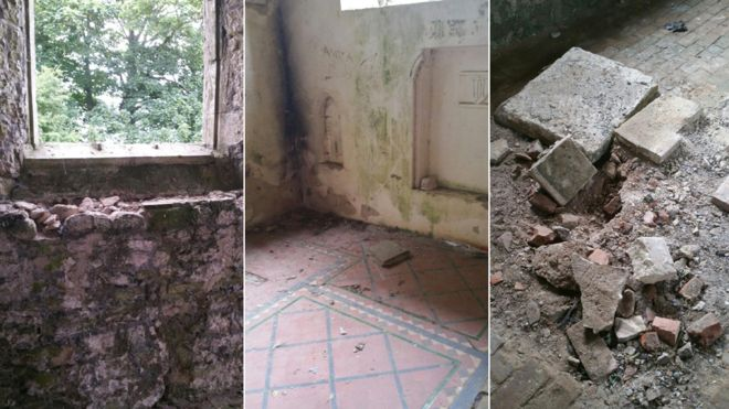 Abandoned 'Satanist' Church Vandalised in Lincolnshire