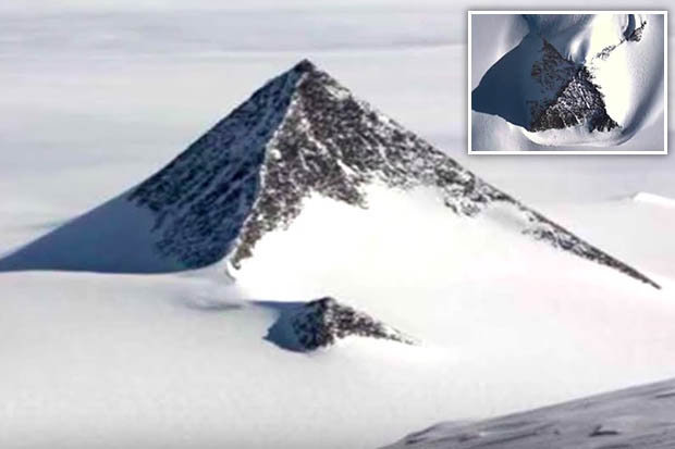 Antarctic 'Pyramid' Discovered on Google Earth
