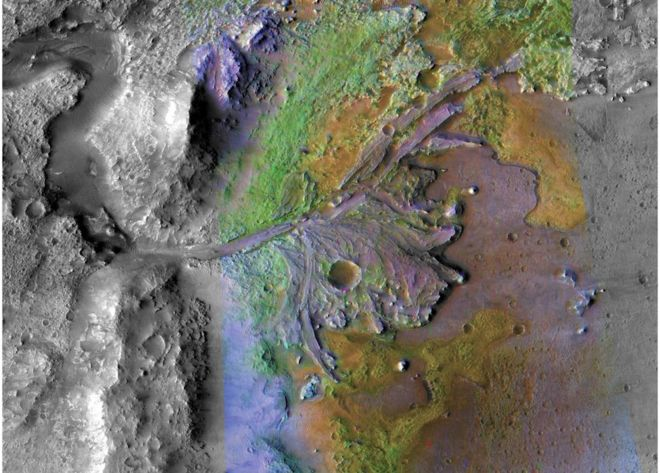 NASA 2020 Robot Rover to Target 'Lake' Crater in Search for Life