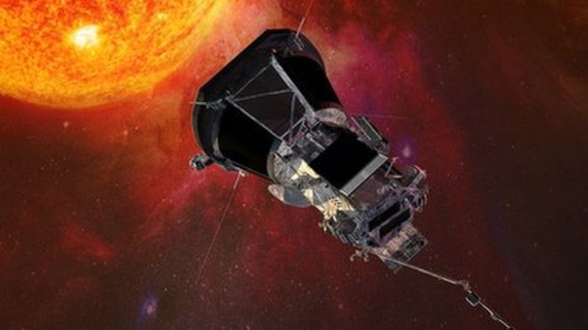 Solar Probe Becomes the Closest Man-made Object to the Sun