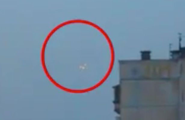 Triangular UFO Seen Hovering Above Vladimir Putin's Home City