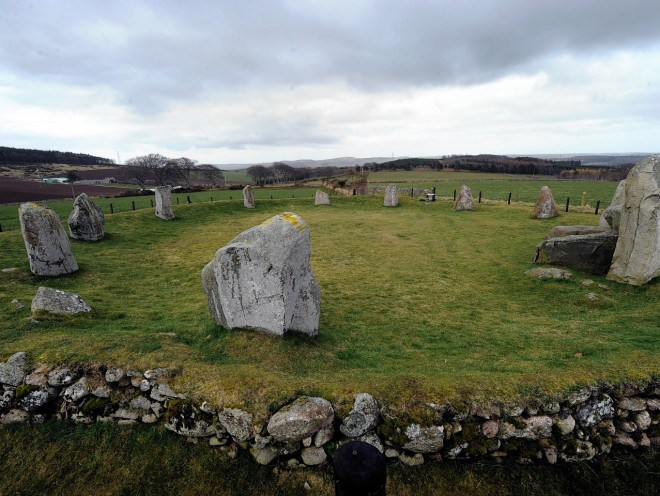 Farmhouse up for Sale...Complete with Ancient Stone Circle