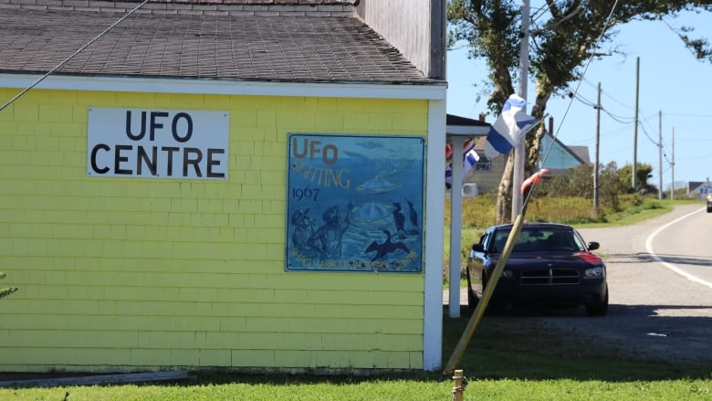 Shag Harbour UFO Centre Vandalised by Unknown Culprits