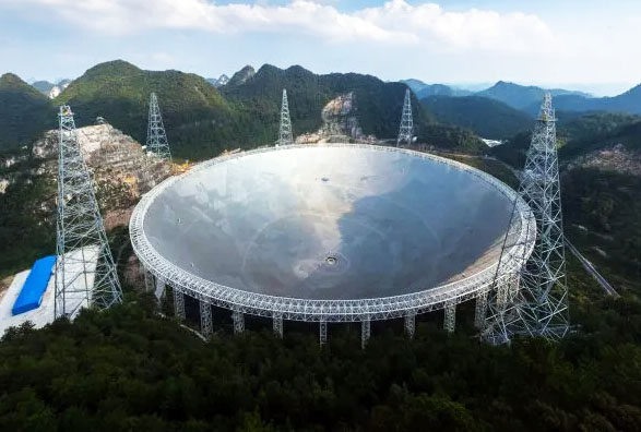 China's Giant Alien-Hunting Telescope Is Now Fully Operational