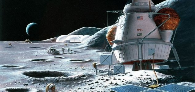 NASA Is Planning to 'Go to the Moon to Stay'