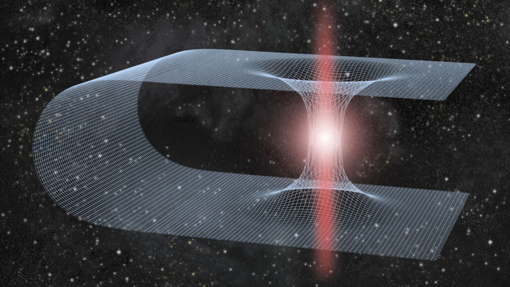 Could Ripples in Spacetime Point to Wormholes?