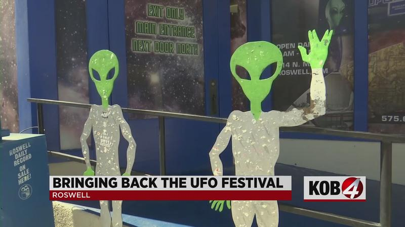 Roswell's UFO Festival Gears up for Comeback