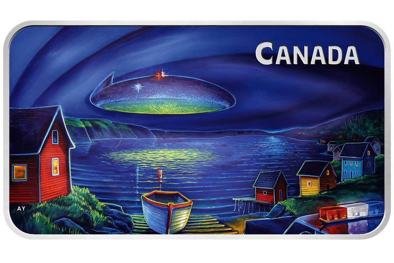 Canadian Mint Produces Commemorative Coin of UFO Incident