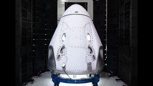 NASA Astronauts Keep Quiet on SpaceX Capsule Name