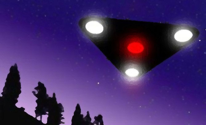 Brisbane Woman Claims Triangular UFO Hovered Near Her Home