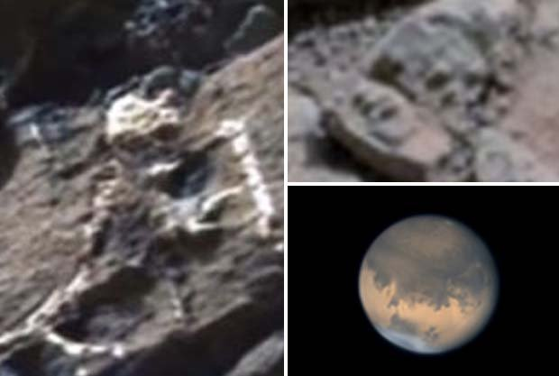 Are These Images Proof Aliens Existed on the Red Planet?