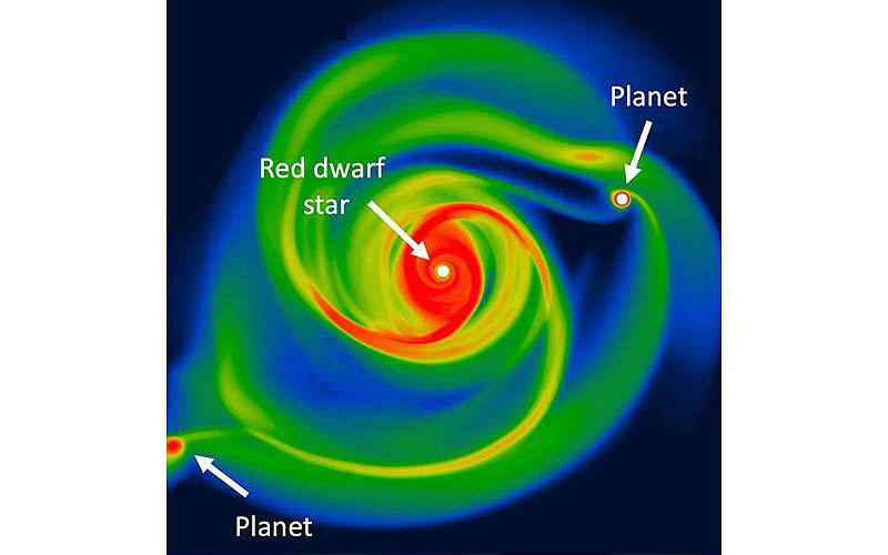 Astronomers Find a Way to Form 'Fast and Furious' Planets
