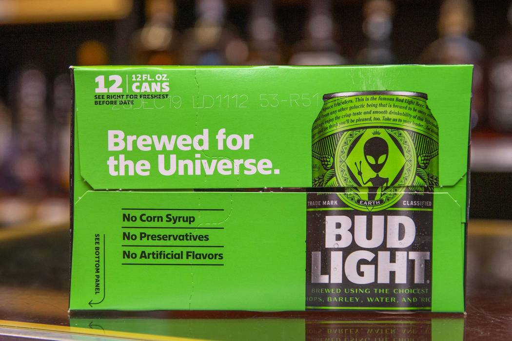 Limited Edition Alien-themed Bud Light Released