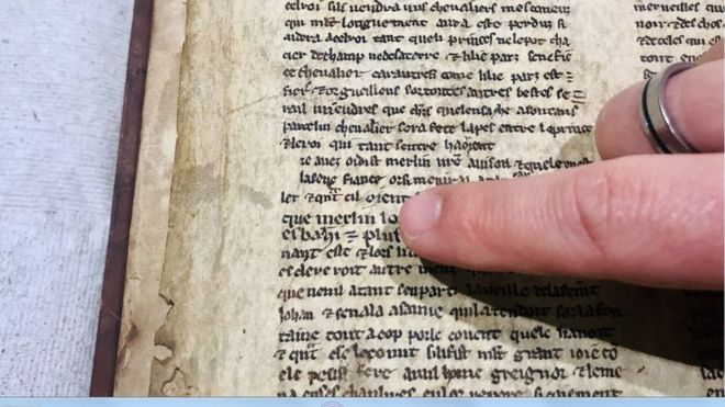 Lost 'Merlin Manuscripts' Found in University Library