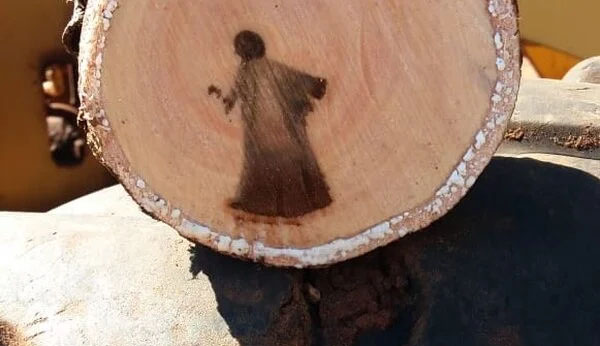 Image of 'Jesus Christ' Discovered in Cut Tree Branch?