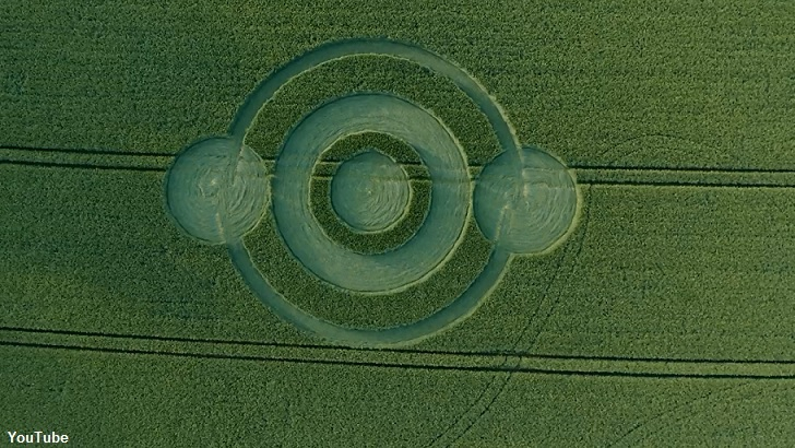 First UK Crop Circle of 2019 Found