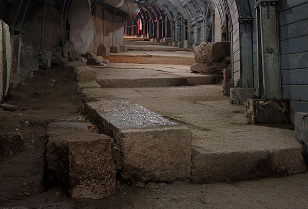 Road Built by Pontius Pilate Uncovered in Jerusalem