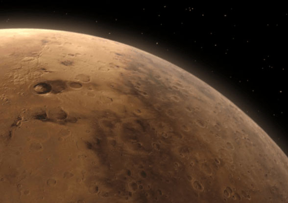 Newly Found 'Salty Lakes' on Mars Could Be Teeming with Life