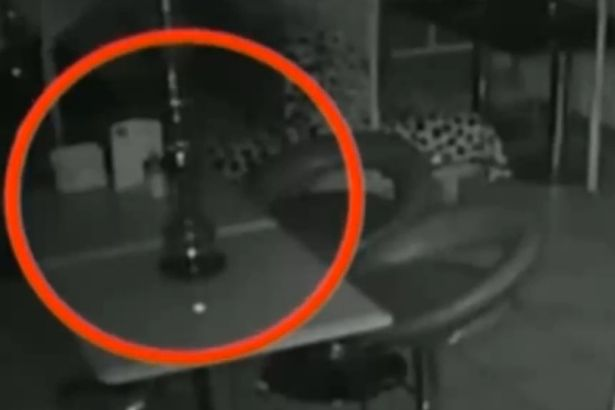 'Ghost' Caught on Camera Throwing Shisha Pipes in Deserted Bar