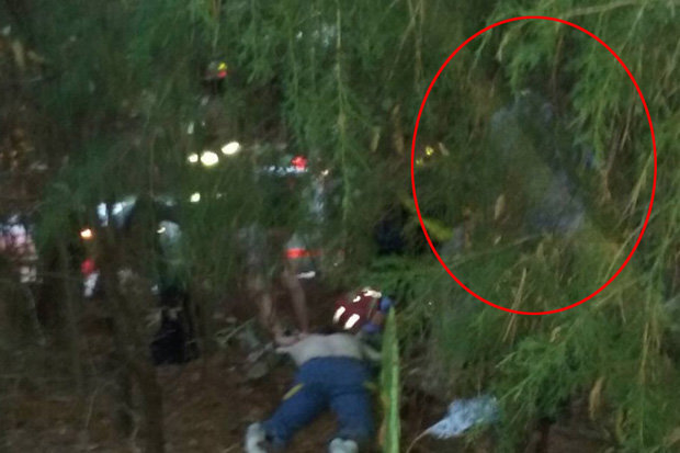 Does This Photo Reveal a Guardian Angel Hovering Over Crash Victim?
