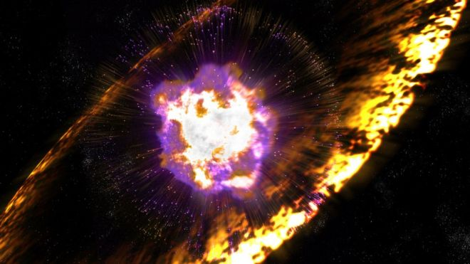 Exploding Stars Left Recent, Radioactive Mark on Earth