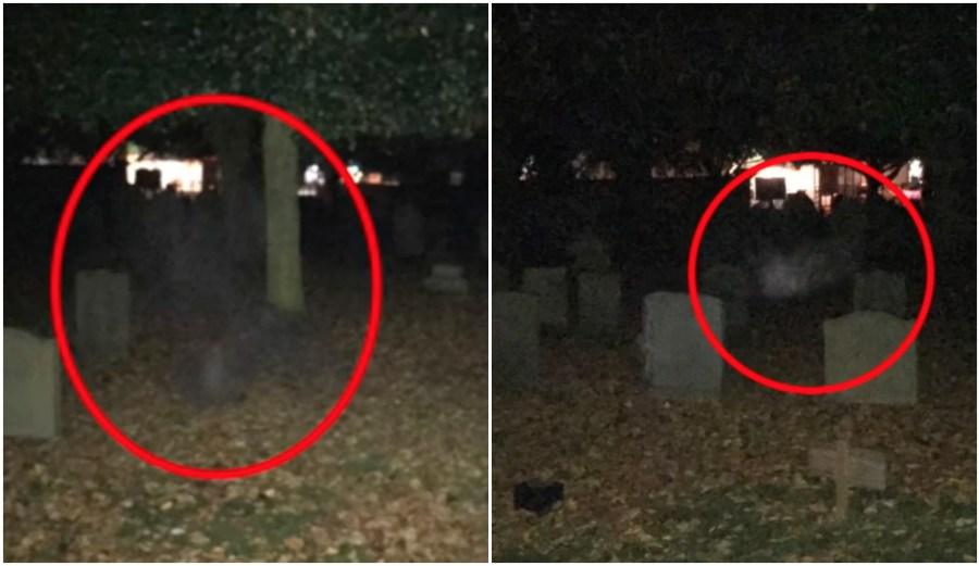 Has This Lincoln Cameraman Captured a Graveyard Ghost?