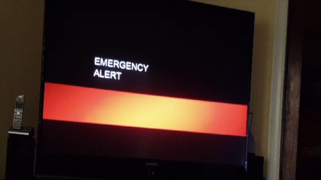 'End-of-the-World' Alert Interrupts TV Broadcasts
