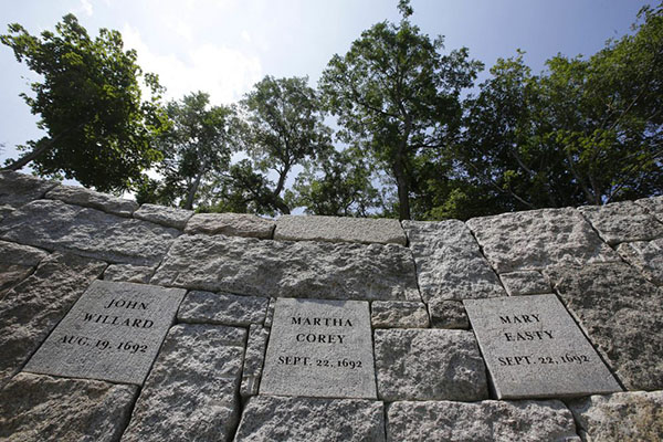 New Memorial Remembers Victims of the Salem Witch Trials