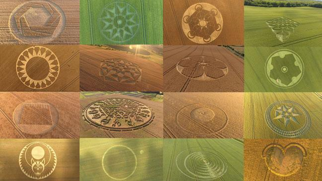 Enthusiast Captures 23 Crop Circles on Camera This Summer