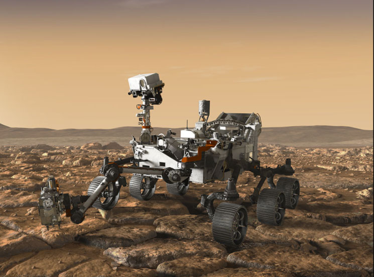 NASA Mars Rover Set to Search for Signs of Ancient Life in 2020