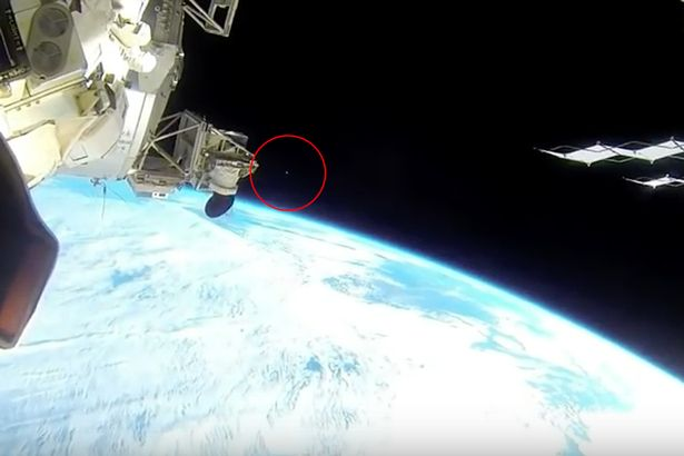 Space Station Camera Catches Mystery UFO Hurtling Over Earth