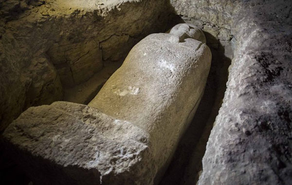 Inside Newly Discovered Ancient Egyptian Cemetery