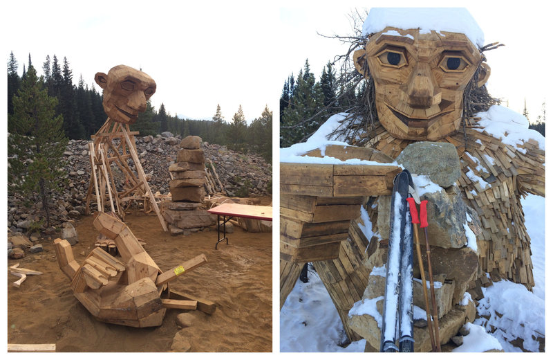 Troll Statue Removed from Colorado Town for Being Too Popular