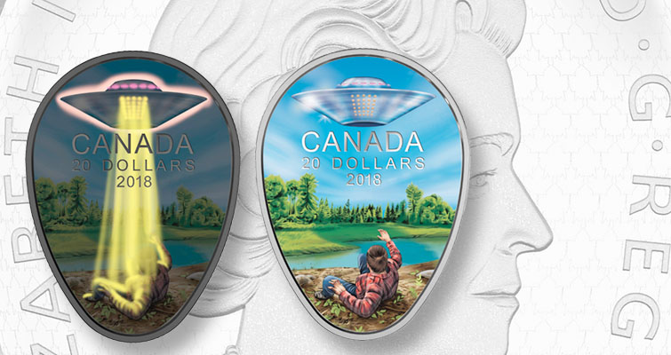 Royal Canadian Mint Issues Coin Celebrating 1967 UFO Incident