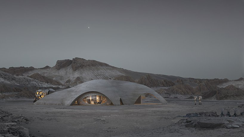 Designs Unveiled for Conceptual 3D-Printed Martian Habitat